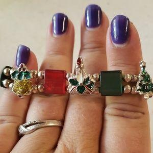 Vintage Christmas bracelet